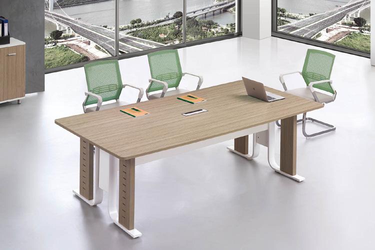 鋼木會議桌